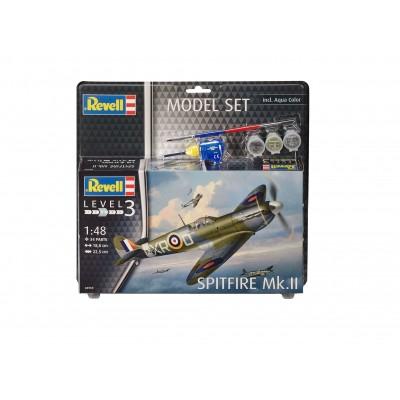échelle 1:48 Revell spitfire mk ii model set 63959 new
