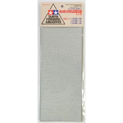 TAMIYA 87009 Papier Abrasif Medium TAMIYA Finishing Abrasives medium set